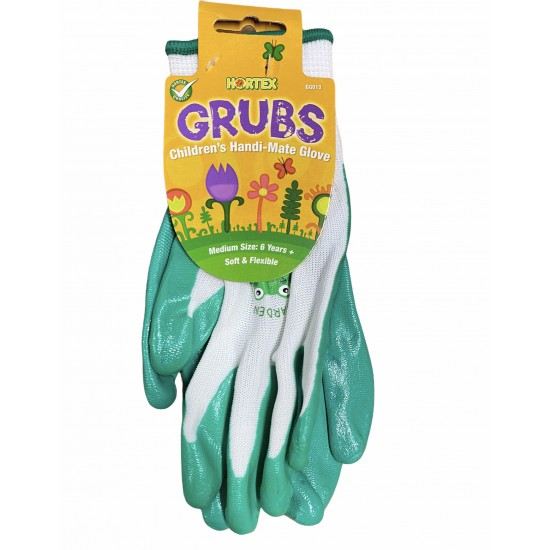 Kids Gardening Gloves Green