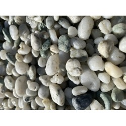 Decorative Pebbles White