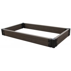 Raised Garden Box, Small Brown