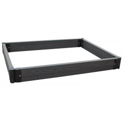 Raised Garden Box, Large Charcoal