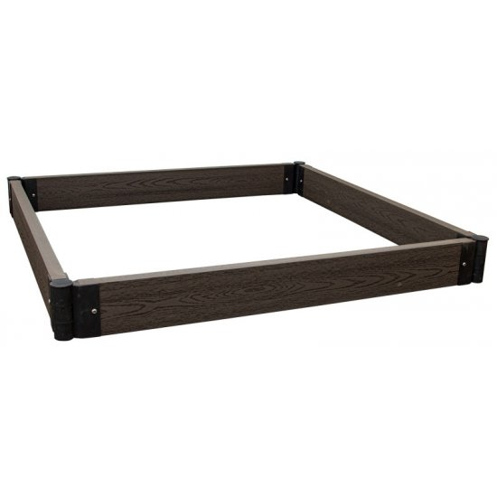 Raised Garden Box, Extra Large Brown