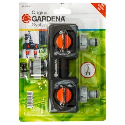 Gardena Twin Tap Connector