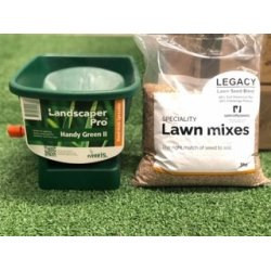 Lawn Seed and Spreader Combo